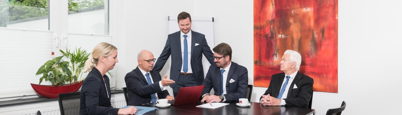 Besprechung Anwälte Kanzlei ZHS Euskirchen